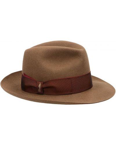 Poczuł bezpłatne cięcie szeroki kapelusz bezpłatne cięcie złoto Borsalino