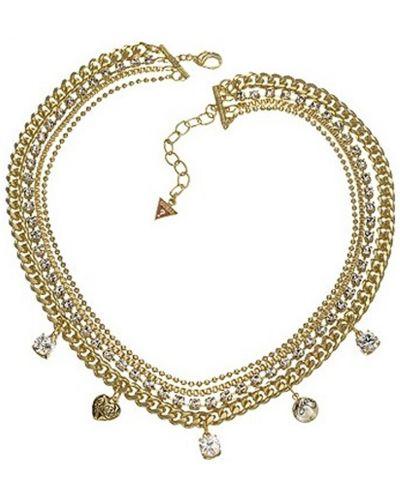 Желтое ожерелье Guess