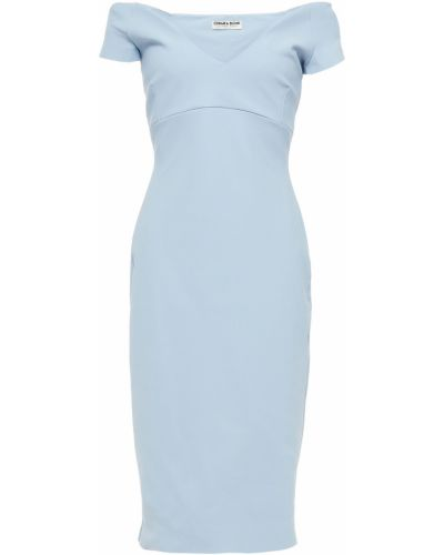 Платье с подкладкой - синее Chiara Boni La Petite Robe