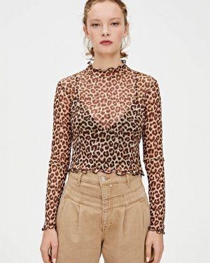 Блузка с длинным рукавом осенняя Pull&bear