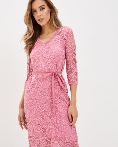 Прямое розовое платье Mama.licious