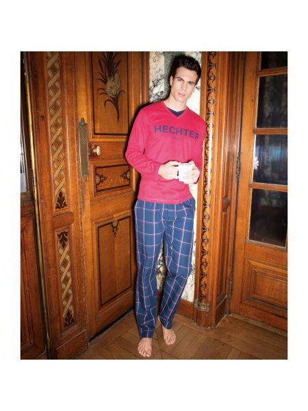 Пижама в клетку с принтом Daniel Hechter Lingerie