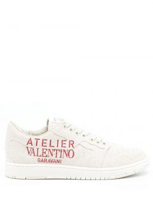 Beżowe sneakersy Valentino Garavani