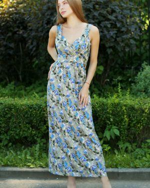 Сарафан из вискозы на бретелях Lika Dress