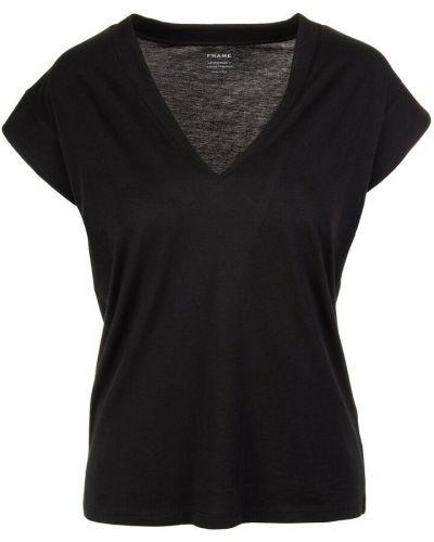 Czarna t-shirt Frame