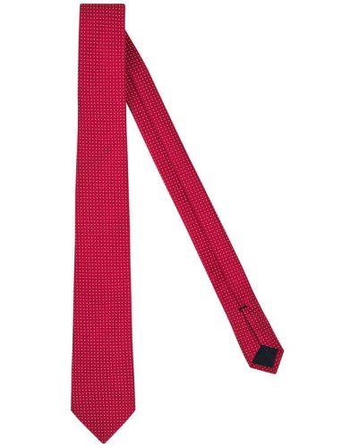 Czerwony krawat Tommy Hilfiger