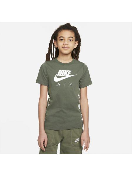 Klasyczny brązowy t-shirt Nike