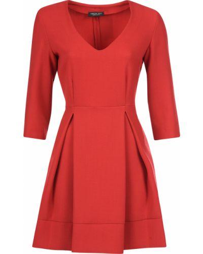 Шерстяное платье - красное Twin-set