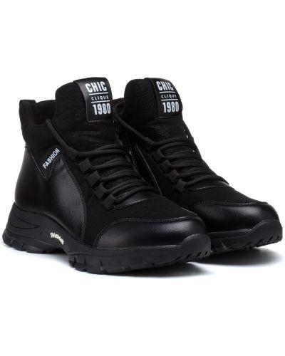 Черные кроссовки Lifexpert