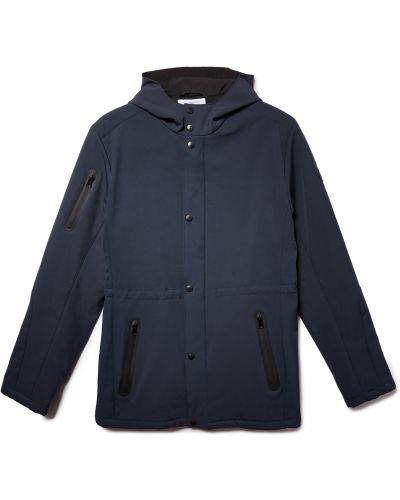 Брендовая синяя куртка с подкладкой Lumberjack