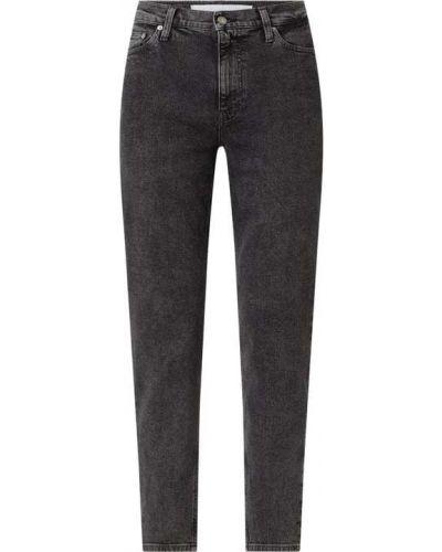 Mom jeans bawełniane Calvin Klein Jeans