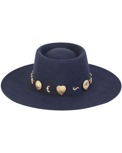 Złoty kapelusz vintage Lack Of Color
