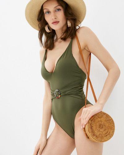 Зеленый слитный купальник Women'secret