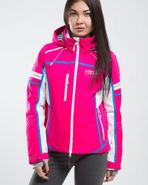 Горнолыжная куртка розовая для бега Running River