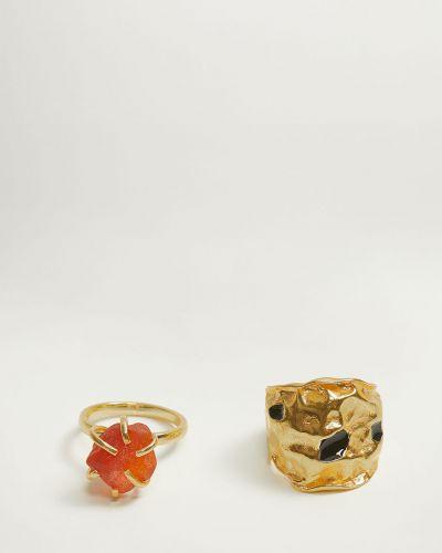 Кольцо набор из золота Mango