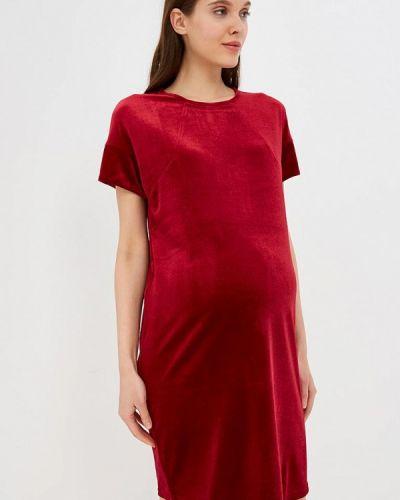 Вечернее платье - красное очаровательная адель