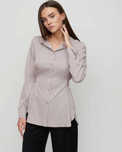 Серая блузка с длинными рукавами Cardo
