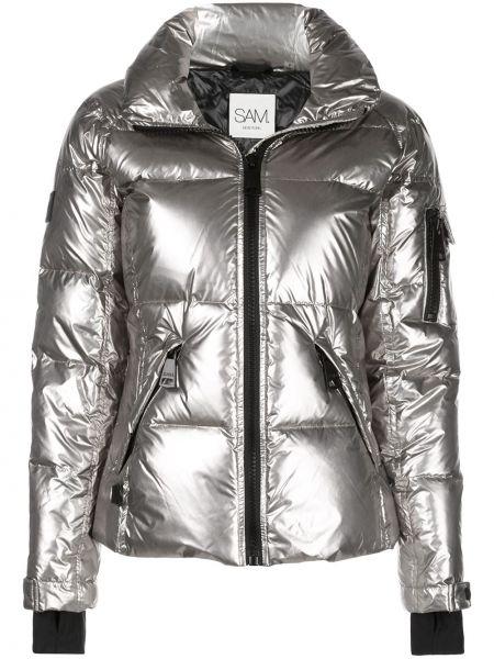 Дутая куртка - серебряная Sam.