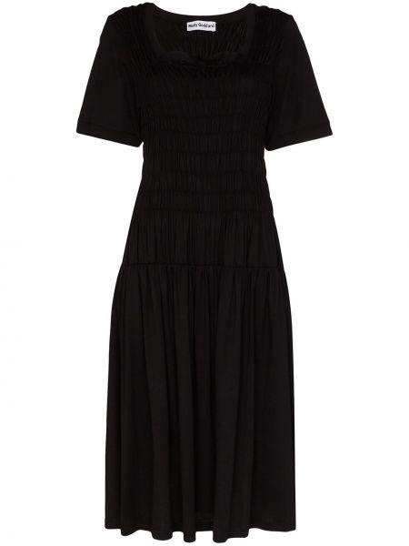 Платье мини миди со складками Molly Goddard