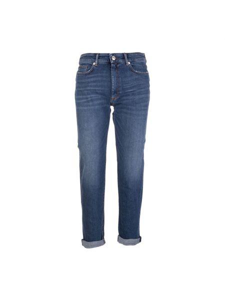 Niebieskie mom jeans Sportmax