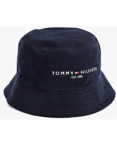 Синяя зимняя панама Tommy Hilfiger