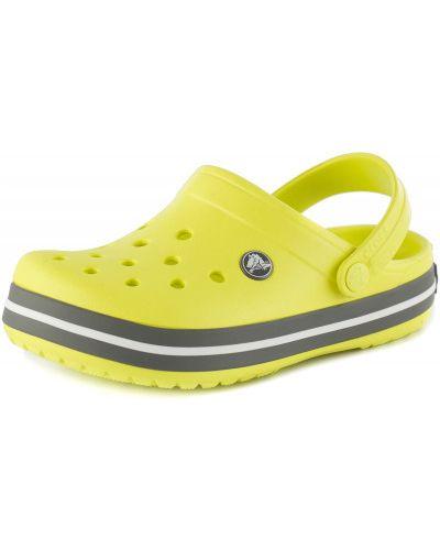 Шлепанцы зеленый для обуви Crocs