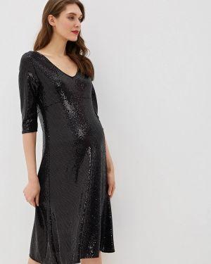 Черное платье для беременных Dorothy Perkins Maternity