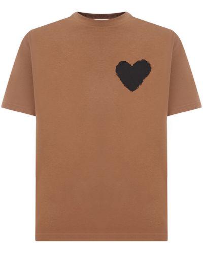 Brązowa t-shirt Haikure