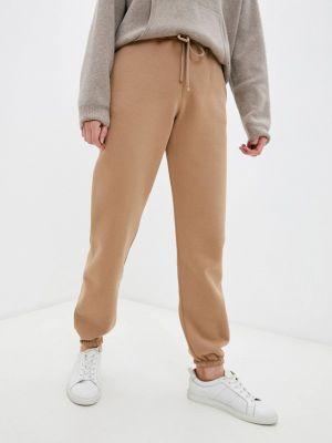 Бежевые зимние брюки Max Mara Leisure
