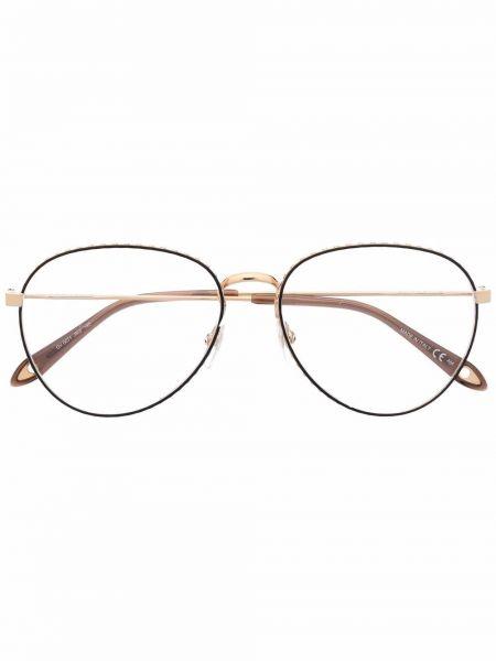 Черные очки авиаторы Givenchy Eyewear