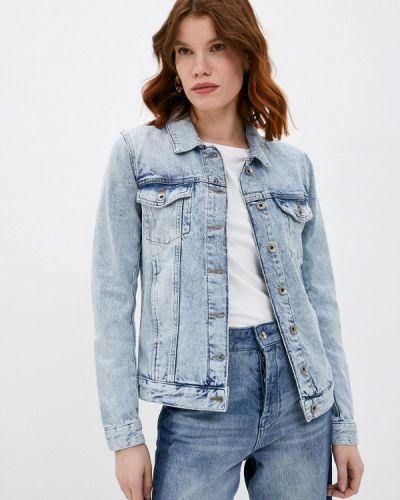 Джинсовая куртка - голубая Patrizia Pepe
