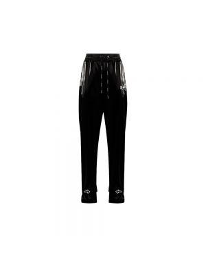 Czarne spodnie z nylonu Off-white