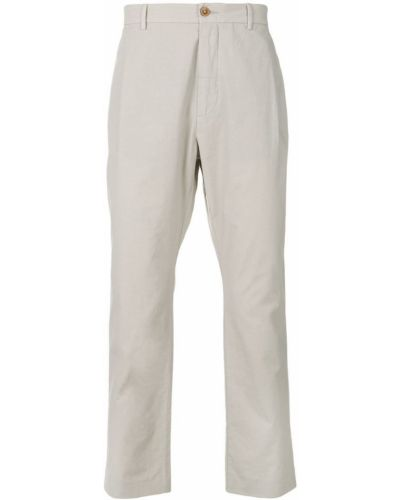 Классические брюки серые бежевый Pence