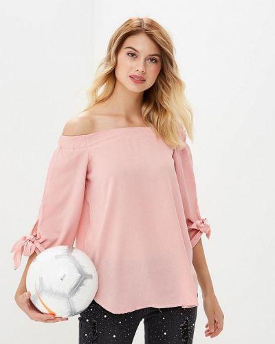 Блузка с открытыми плечами осенняя By Swan