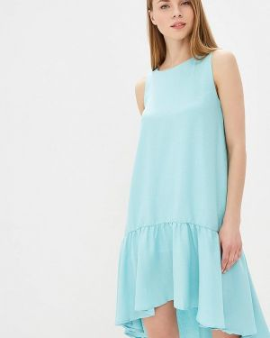 Платье бирюзовый Mirasezar