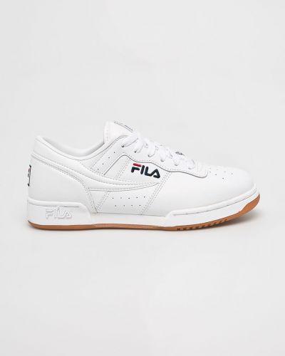 Кроссовки текстильные на шнуровке Fila