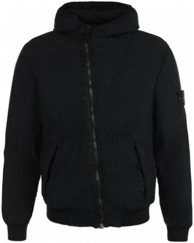 Куртка с капюшоном пуховая на молнии Stone Island