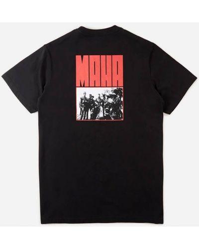 Черная футболка Maharishi