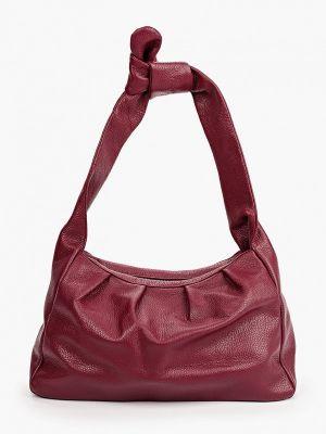 Кожаная красная сумка Lamania
