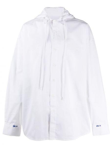 Biała koszula z długimi rękawami - biała Ader Error