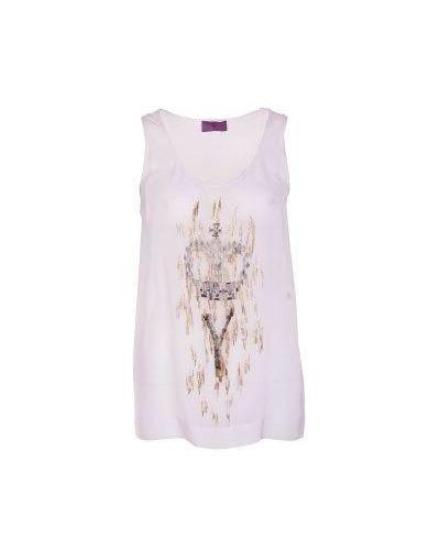 Белая повседневная футболка Irfé
