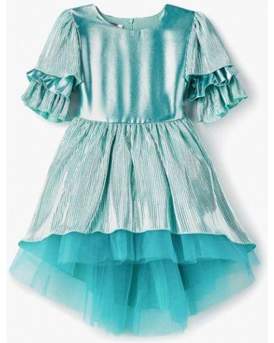 Бирюзовое платье на торжество Shened