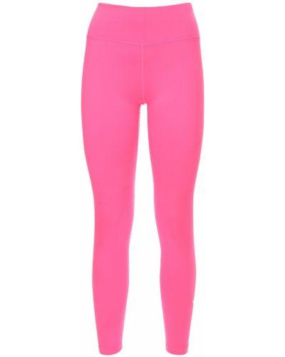 Trening różowy legginsy elastyczny Nike