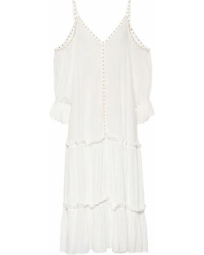 Платье мини облегающее из вискозы Jonathan Simkhai