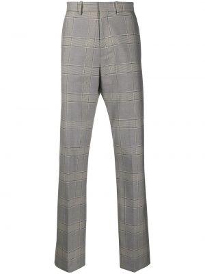 Spodnie bawełniane z paskiem Botter