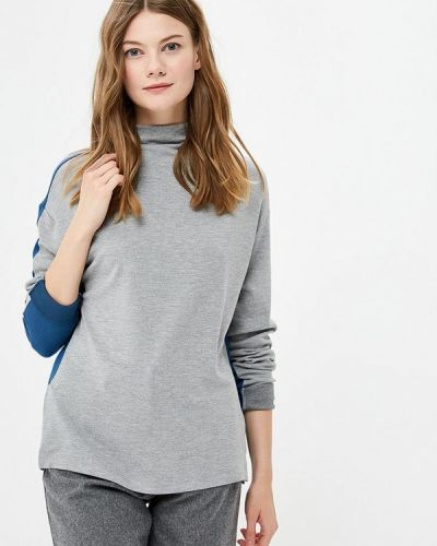 Серый лонгслив United Colors Of Benetton
