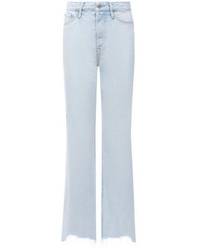 Синие джинсы из вискозы Grlfrnd