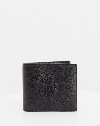 Кожаный портмоне - черный Billionaire