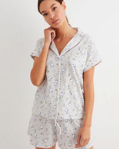 Серая пижамная пижама Women'secret