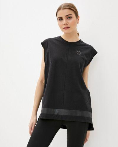 Черный топ Adidas By Stella Mccartney